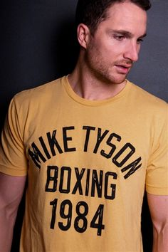 Tyson Boxing 1984 Tee (worn in 7/11 video)