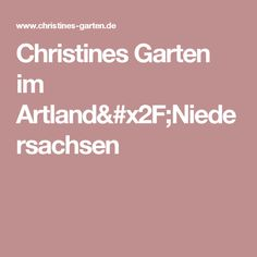 Christines Garten im Artland/Niedersachsen