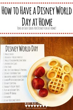 Our Disney World Day at Home- Our ideas for how to have a Disney Day at Home: snacks, videos, activities, and more – Mary Martha Mama Disney Cups, Disney Snacks, Disney Day, Disney Home, Disney Magic, Disney Vacations, Disney Resorts, Family Vacations, Cruise Vacation
