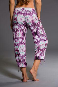 Gypsy Pant - Purple Tie Dye | Onzie