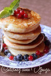 Pancakes vegan sans oeufs