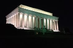 Washington DC monuments by night tour #travel