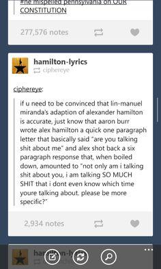 #Hamilton #musical #brofight