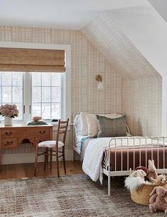 Rooms Home Decor, Cheap Home Decor, Bedroom Decor, Bedroom Nook, Accent Walls In Living Room, Amber Interiors, Big Girl Rooms, Kids Rooms, First Home