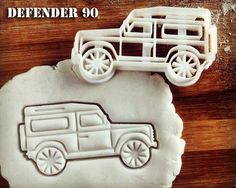 Land Rover Defender 90 Inspired Cookie Cutter Classic by Made3D  I so just ordered these