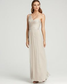 Champagne Bridesmaid Dresses - Rustic Wedding Chic