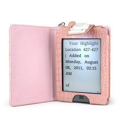 Aquarius book #lighter #leather case with led light for amazon #kindle touch and ,  View more on the LINK: 	http://www.zeppy.io/product/gb/2/231802543739/