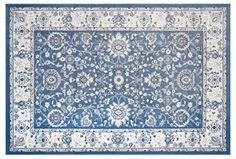 Outdoor Starnes Rug, Blue