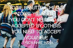 Accept yourself! #acceptance #selfworth #depression #recovery #peersupport