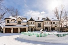 $6.25 Million Waterfront Stone Mansion In Montreal, Canada