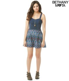 Lace Corset Cami from Bethany Mota Collection at Aeropostale