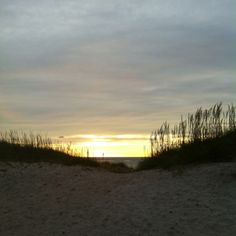 Ocracoke Island Sunset