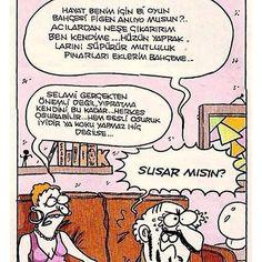 Susar mısın? :)) @hazelicgiyim @hazelicgiyim @hazelicgiyim #karikatur #komik #mizah #caps #osuruk #edebiyat #evli #cift #karikaturzade