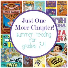 Awesome books for kids in grades 2-4 to read this summer! Some classics and some that will become new favorites quickly.