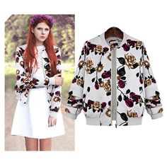 Find More Basic Jackets Information about Europe 2015 new autumn and winter small collar long sleeved jacket zipper slim printing,High Quality clothes basket,China print comforter Suppliers, Cheap print from Silly Ivan on Aliexpress.com Clothes Basket, Wool Coat, Comforter, Winter Outfits, Printing, Europe, China, Slim, Autumn