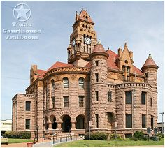 Wise County Courthouse in Decatur, Texas.. It's one of the best looking courthouses in the entire nation!