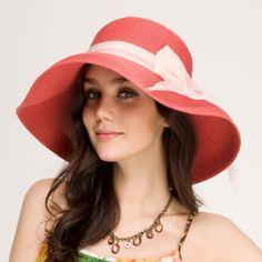 Ladies bow floppy sun hats UV wide brim straw hat for sumemr wear