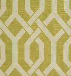Pindler Fabric Pattern #P0044-Karabel, color Celery www.pindler.com   (Geometric) Available at the DD Building suite 1536 #ddbny #pindler