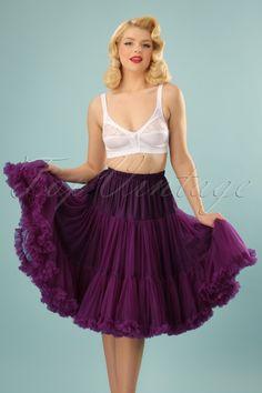 d84cbd64b4c3f4 Banned Eggplant Purple petticoat 18078 20150318 2W Swing Kleid, Kopftuch  Arten, Riesiger Schrank,