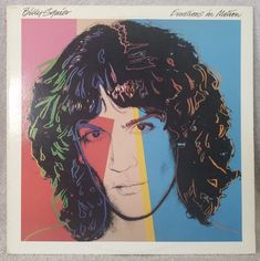 "BILLY SQUIER 1982 emotions In Motion (ST-12217) 12"" Vinyl 33 LP Rock  VG #HardRock"