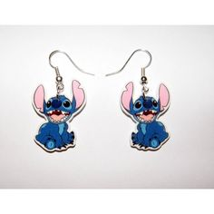 Disney Lilo an Stich Stitch earrings Lelo And Stich, Lilo And Stitch 3, Cute Stitch, Disney Stitch, Disney Earrings, Disney Jewelry, Cute Earrings, Plastic Earrings, Plastic Jewelry