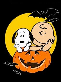 Snoopy Halloween, Halloween Cartoons, Charlie Brown Halloween, Great Pumpkin Charlie Brown, Halloween Art, Halloween Snacks, Happy Halloween, Halloween Things To Draw, Halloween Quotes