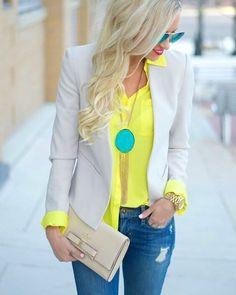 WEBSTA @ eueminharoupa - Inspiração de cores super linda!Boa noite amores!#eueminharoupa #lookinspiracao #pinterest
