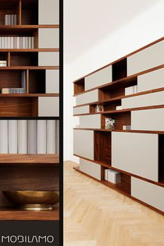 Designer Regal nach Maß - made in Austria A Shelf, Shelves, Vertical Or Horizontal, Shelf Design, Open Shelving, Designer, Bookcase, Austria, Home Decor