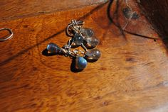 Amazing Sapphire Blue Fire Labradorite Dangle by maggiesjewelry
