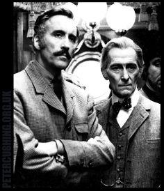 Christopher Lee & Peter Cushing