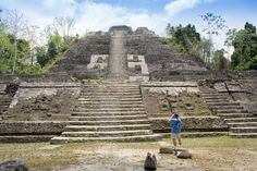 """Lamanai (from a term meaning """"submerged crocodile"""") was continuously occupied by the Maya for more than 3,000 years."""