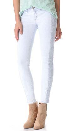 Rag & Bone/JEAN The Split Skinny Jeans