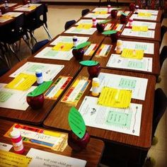 The blog of a third grade teacher...many room prep and open house ideas
