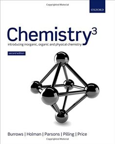 """Chemistry³: Introducing Inorganic, Organic, and Physical Chemistry: Unique among introductory chemistry texts, emChemistry³,/em Second Edition, is written by a team of chemists to give equal coverage of organic, inorganic, and physical chemistry--coverage that is uniformly authoritative throughout. A special feature is the mechanistic approach to organic chemistry, rather than the old-fashioned """"functional group"""" approach.brbremChemistry³/em tackles two issues pervading chemistry edu..."""