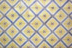 Azulejos, telhas portuguesas Fotografia de Stock