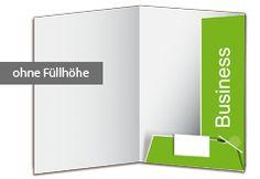 """Präsentationsmappe Business - Füllhöhe ausreichend für ca. 3 bis 4 Blatt. Präsentieren Sie Ihre Firmenunterlagen richtig! Unsere Präsentationsmappe """"Business"""" ist standardmäßig mit einem Visitenkartenschlitz versehen. Die untere Lasche wird in die obere eingehakt. Dadurch wird die Mappe besonders stabil. http://www.myflyer.de/Produkte/Mappen/Mappe-Business.html"""