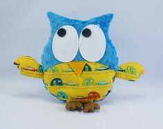 plush owl - campers http://www.littlesophie.pl/pl/glowna/444-gustaw-w-campingi.html