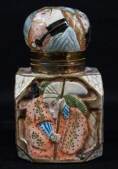 Chinese porcelain perfume bottle