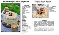 Herbstknusper: Karamell-Knusper-Torte mit Nougatboden | Das Knusperstübchen