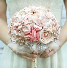 The SunnyBee Keepsake Bouquets are as unique as they are beautiful with their sola wood flowers