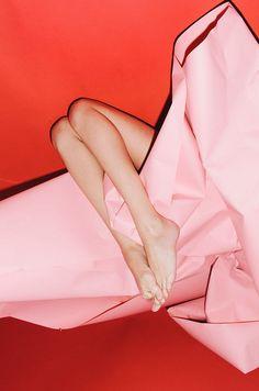 Eric T White #legs #pink