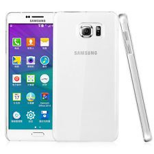 iDefend Samsung Galaxy Note 5 Clear Hard Plastic Case Cover + Screen Protector