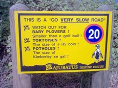 Potholes the size of Kimberley se gat African Jokes, I Am An African, Living In New Zealand, Some Jokes, New Mexican, Out Of Africa, New South, African Culture, Funny Signs