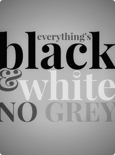 No Grey *the neighborhood* .... black and white will never die <3