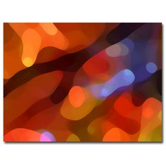 Amy Vangsvard 'Fall Light' Canvas Art