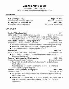 Resume Reference Page Setup Job Hunting Resume