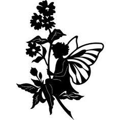 Die Cut Silhouette Fairy on Flower Leaf Topper X 6 for Cardmaking Crafts for sale Kirigami, Fairy Garden Supplies, Gardening Supplies, Paper Cutting Templates, Fairy Templates, Templates Free, Fairy Silhouette, Flower Silhouette, Silhouette Painting