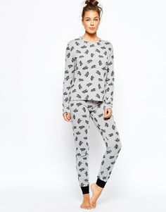 """This awesome elephant <a href=""""http://us.asos.com/Chelsea-Peers-Elephant-Pajama-Set/173mmg/?iid=5682718"""