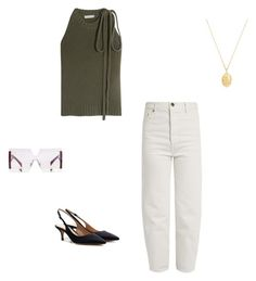 """""""Untitled #155"""" by bronteamelia ❤ liked on Polyvore featuring Vetements, Marni, Theodora Warre, J.W. Anderson and Gianvito Rossi"""