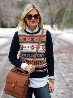 Holiday Fashion: Fair isle sweater